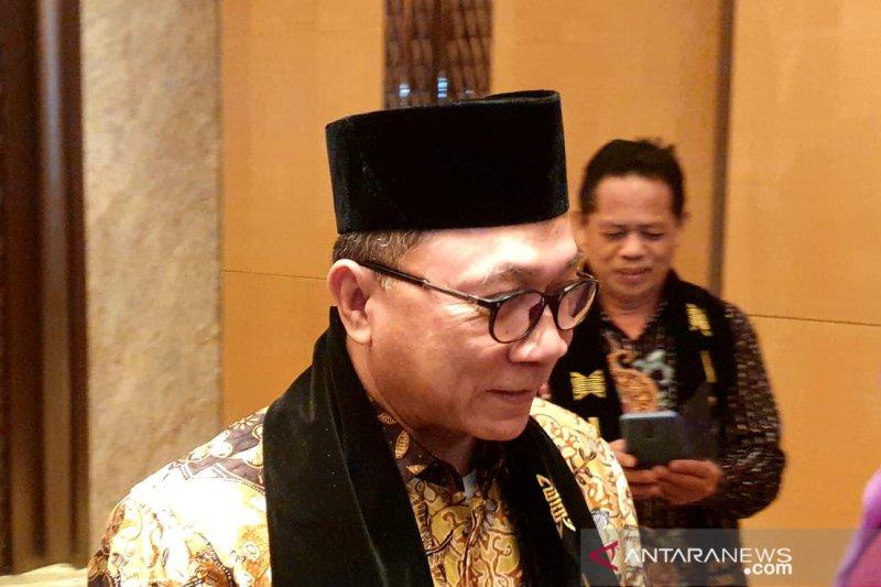 Ketua MPR singgung pentingnya GBHN dalam peringatan Hari Konstitusi