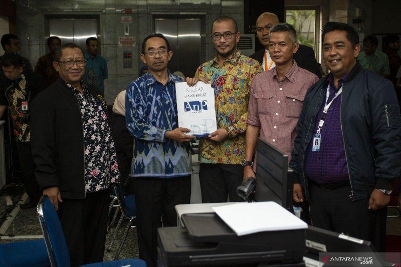 KPU serahkan jawaban gugatan Pileg 2019