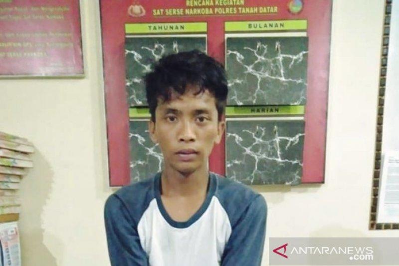 Baru turun dari mobil travel, Gagok langsung ditangkap polisi