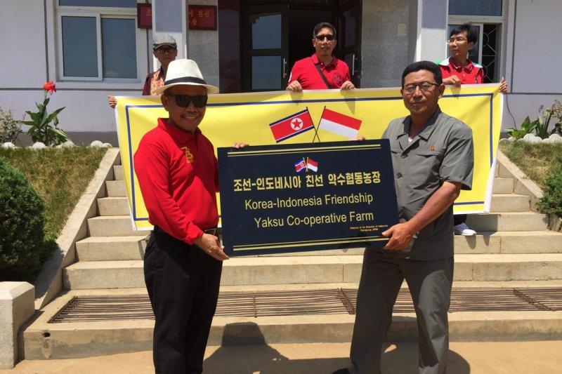 KBRI bantu koperasi petani di Korea Utara