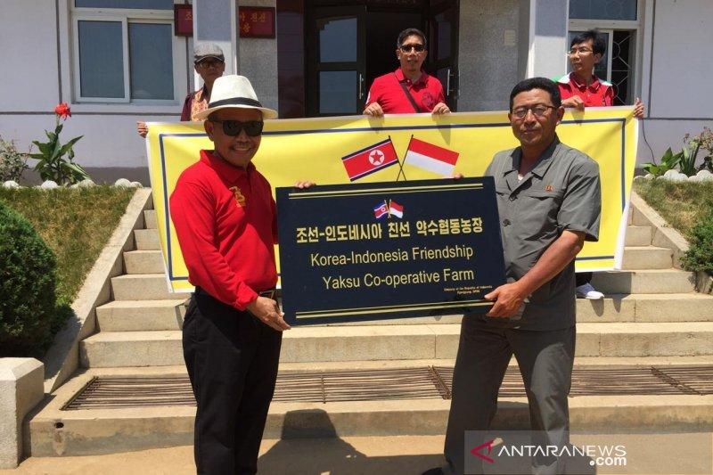 KBRI Pyongyang bantu koperasi petani di Korea Utara