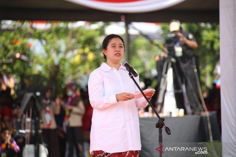Puan Maharani doakan keluarga SBY selalu diberikan ketabahan