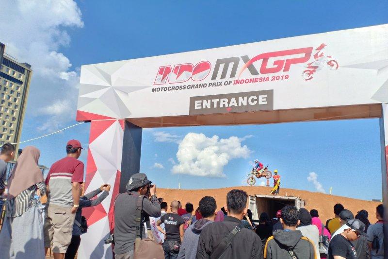 MXGP jadi tontonan warga Palembang di akhir pekan