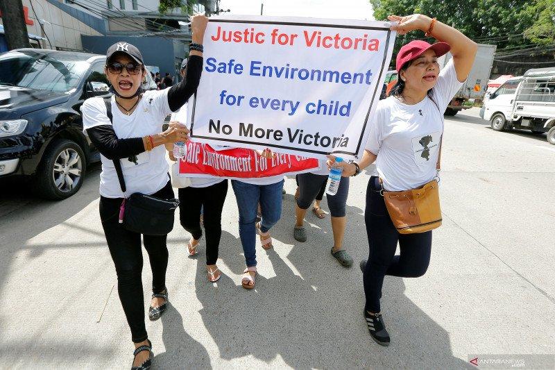 Ratusan orang protes kepolisian Myanmar soal pemerkosaan bocah