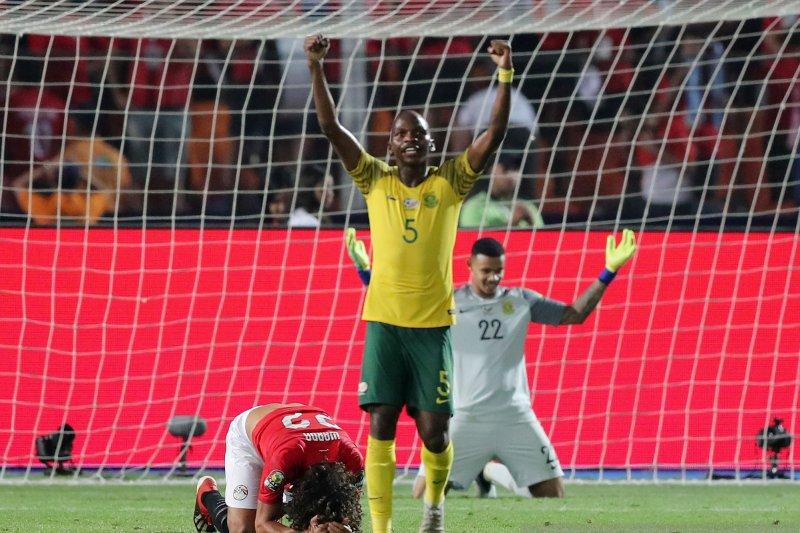 Tuan rumah Mesir tersingkir lantaran gol menit akhir Afsel