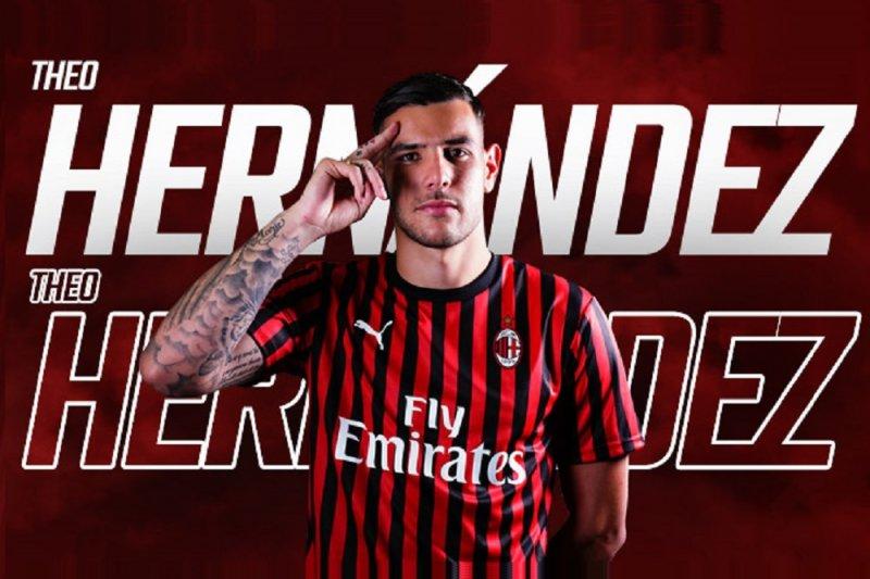 Milan jadikan Theo Hernandez rekrutan pertama