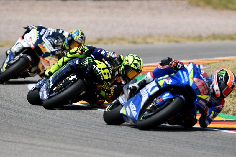 Rossi, Vinales  menguji purwarupa  motor Yamaha 2020 di Brno