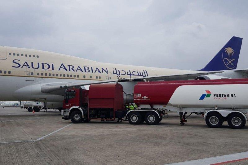 Pertamina tambah pasokan avtur layani penerbangan haji