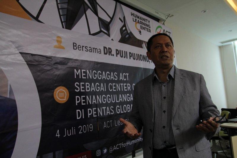 ACT bekerja sama ahli teknologi PBB edukasi mitigasi bencana