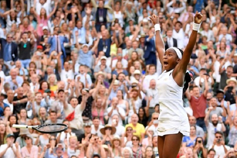 Gauff singkirkan juara bertahan Naomi Osaka di Australia Open