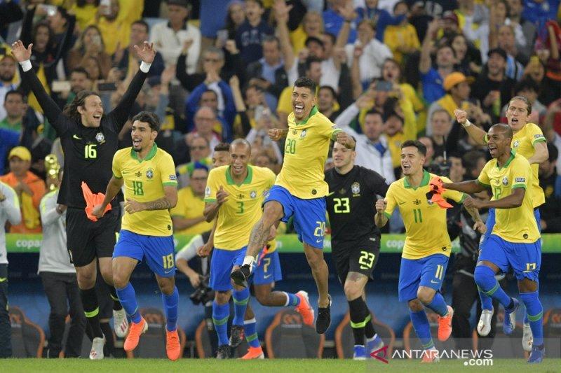 Ini deretan fakta di balik pesta juara Brasil