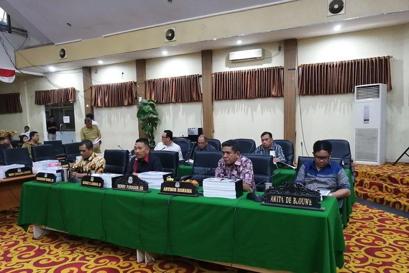 Banggar DPRD-TAPD Manado bahas ranperda pertanggungjawaban APBD 2018