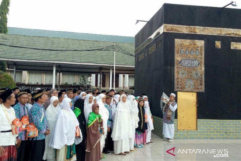 Jamaah tiga kabupaten masuk Asrama Haji Sudiang Makassar