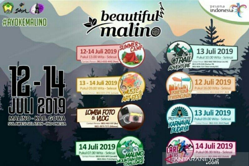 Beautiful Malino 2019  gelar kegiatan bertaraf internasional