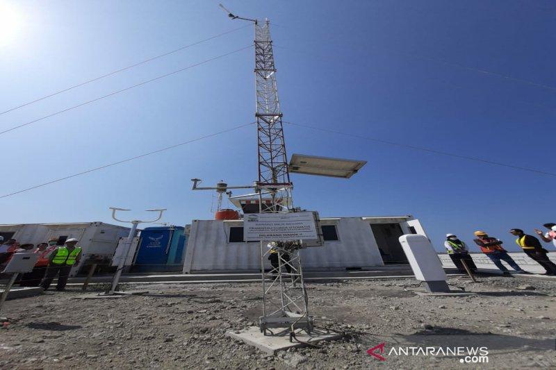 BMKG memasang pemantau cuaca terbaru di Bandara Internasional Yogyakarta