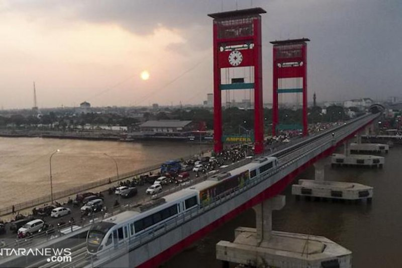 LRT Palembang dapat subsidi Rp180 miliar untuk menarik masyarakat