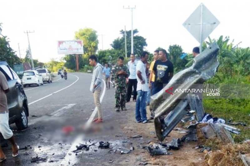Kecelakaan putuskan kaki penumpang Avanza