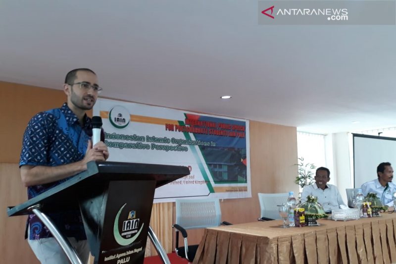 Akademisi Inggris Kevin Fogg bicara perbandingan Islam di Indonesia