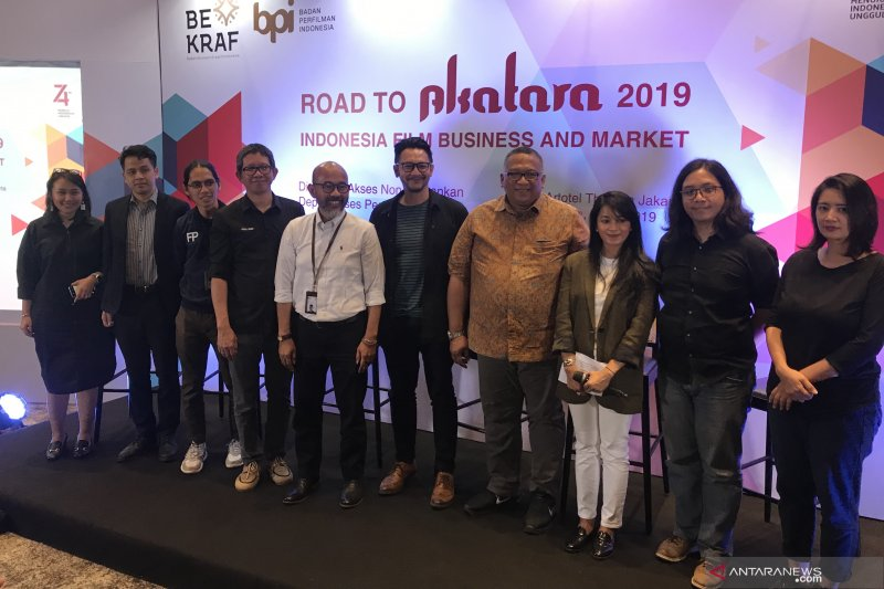 Pendapatan industri perfilman Indonesia merangkak naik