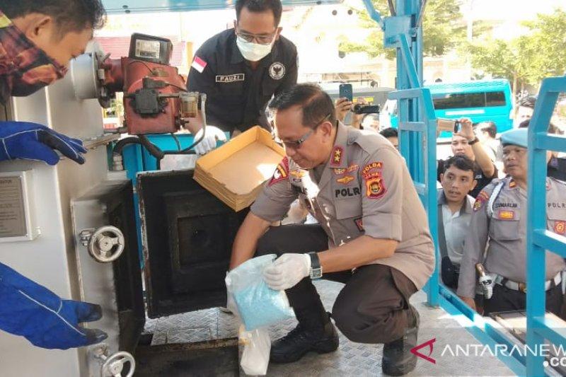 BNNP Jambi musnahkan sabu menunggu jadwal sidang tersangka