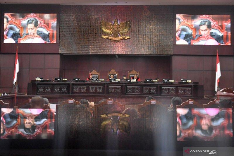 MK sidangkan sengketa pileg  sembilan provinsi