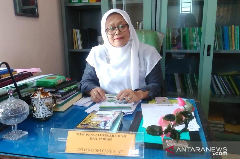 Calon haji Padang Panjang berangkat bersama jamaah Tanah Datar dan Padang