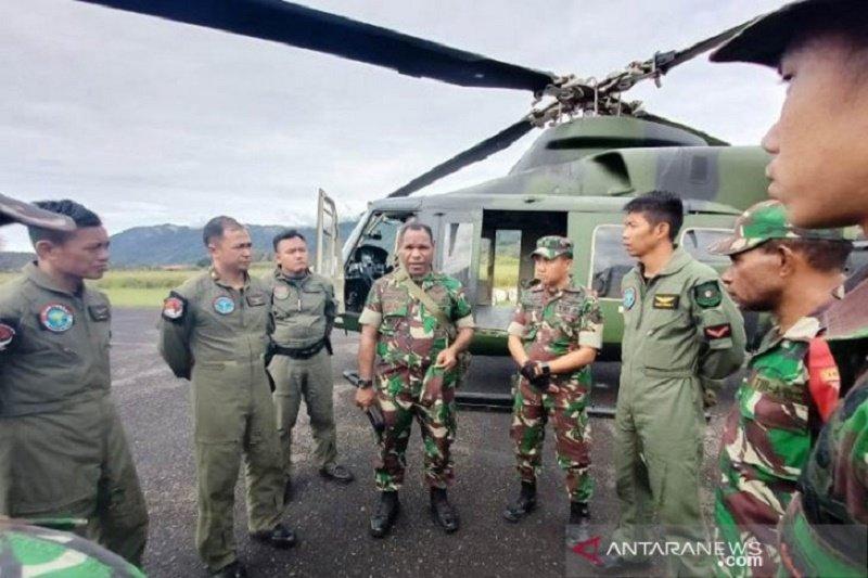 Tim pencari masih melanjutkan upaya untuk menemukan helikopter MI 17