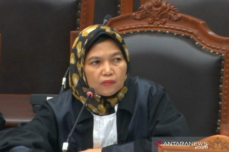 Hakim MK pertanyakan tenggat waktu permohonan caleg Gerindra