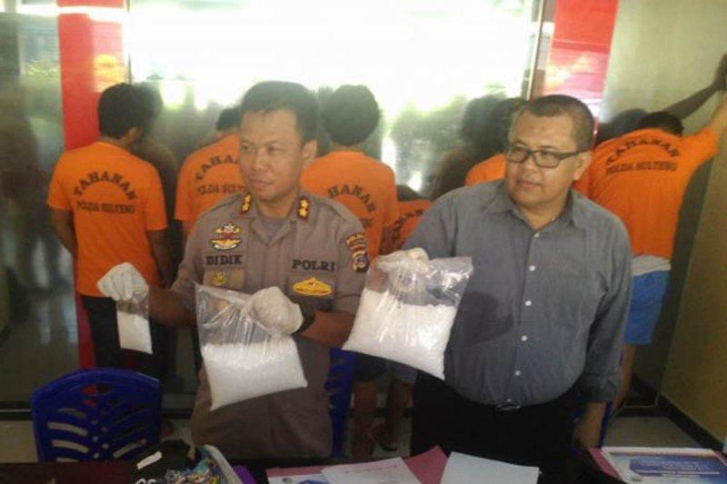 Tiga pejabat Polda Sulteng dapat jabatan baru