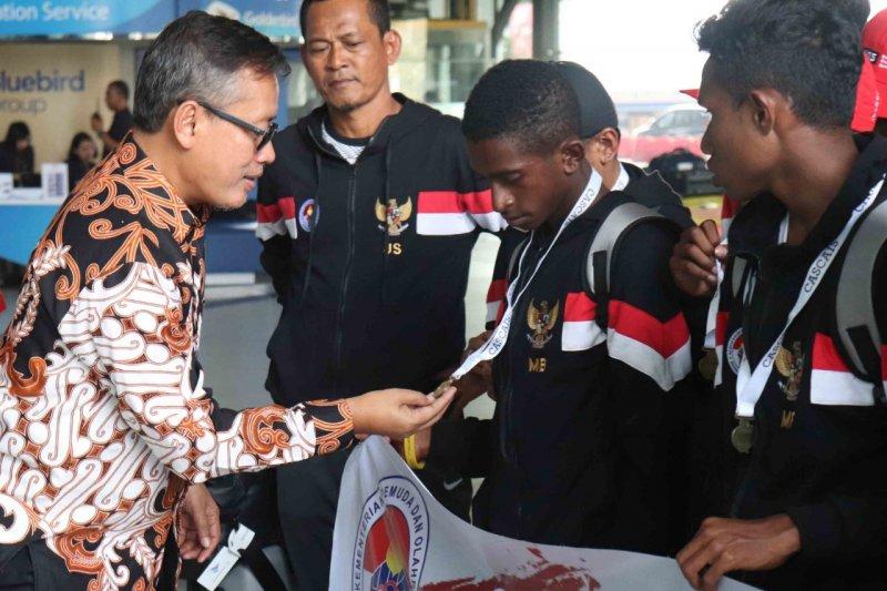 Kemenpora sebut kompetisi liga berjenjang sepak bola usia muda mulai dapatkan hasil
