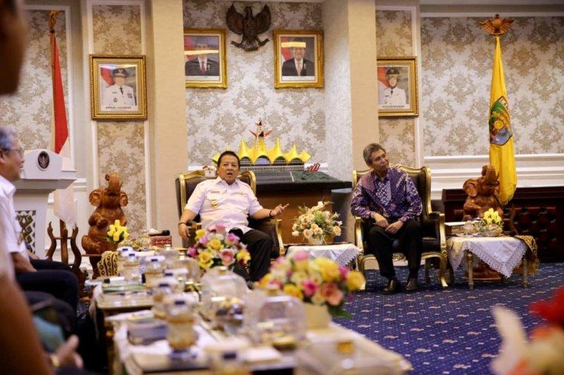 Gubernur minta KPH data ulang luas dan status hutan di Lampung