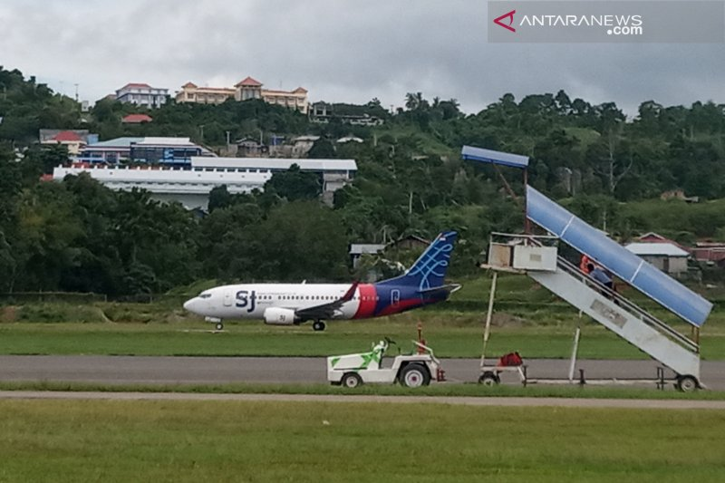 Sriwijaya terbang ke Makassar setelah dua kali bermasalah di Manokwari