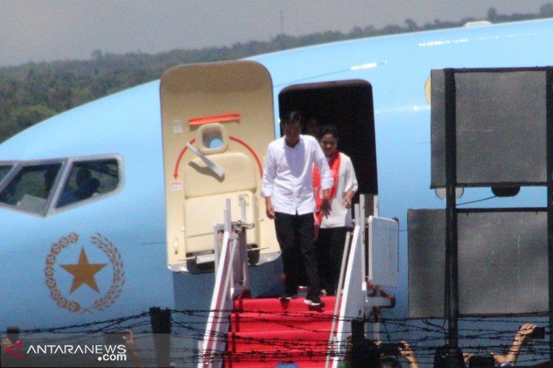 Presiden tiba di Labuan Bajo