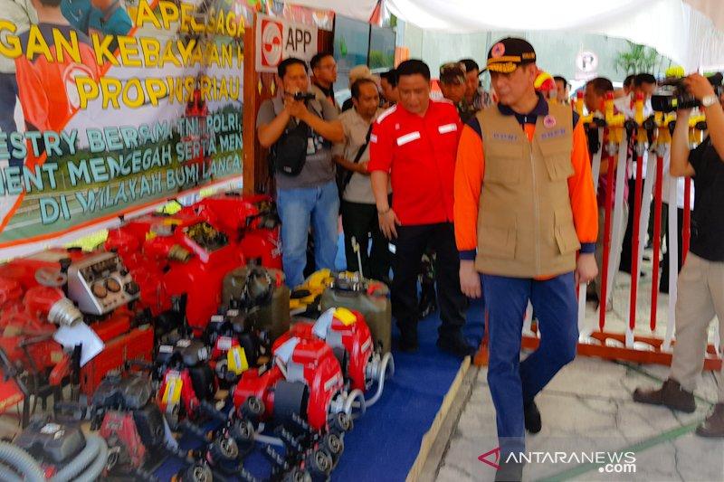 Kepala BNPB minta perusahaan berkontribusi aktif cegah Karhutla Riau