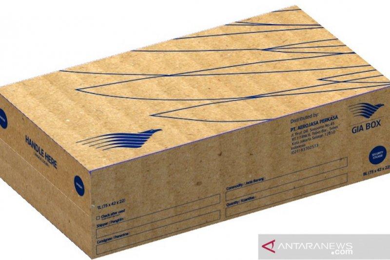 """Maskapai Garuda perkenalkan """"Gia Box"""", kemasan kargo ramah lingkungan"""