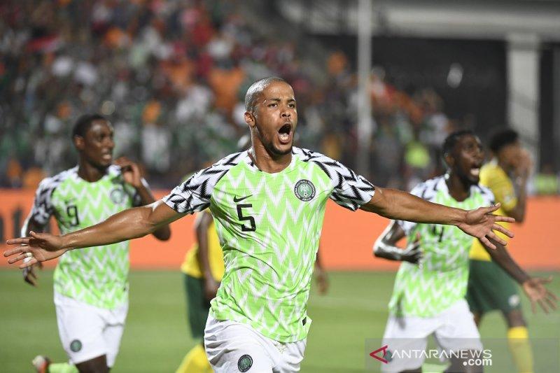 Nigeria menang 2-1 atasq Afsel 2-1 untuk melaju ke semifinal Piala Afrika