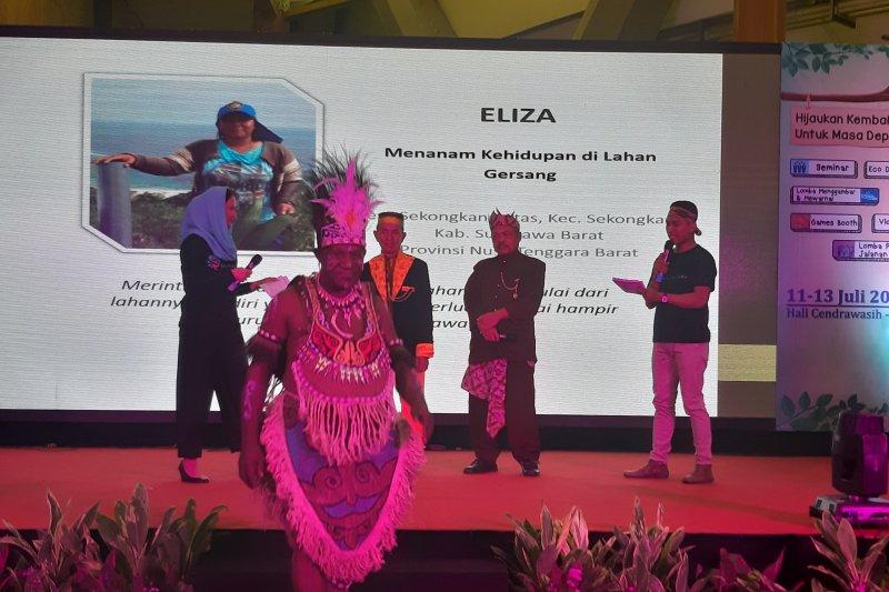 Pemenang Kalpataru berpesan untuk generasi milenial