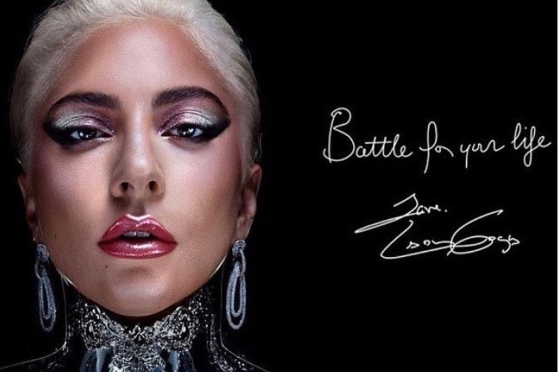Lady Gaga gunakan anting desainer Indonesia untuk iklan kosmetik