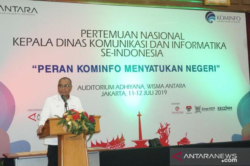 ANTARA dukung  Kominfo jaga NKRI dan satukan negeri