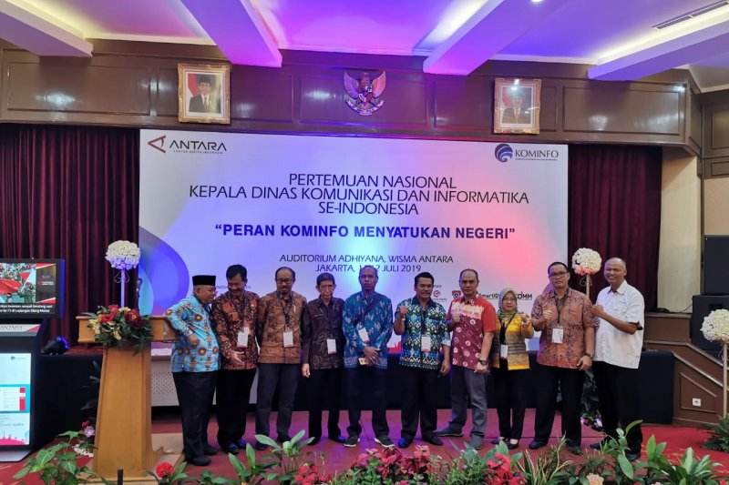 LKBN ANTARA Fasilitasi Pertemuan Nasional Kadis Kominfo Se-Indonesia