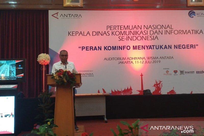 LKBN ANTARA-Diskominfo samakan persepsi satukan Indonesia