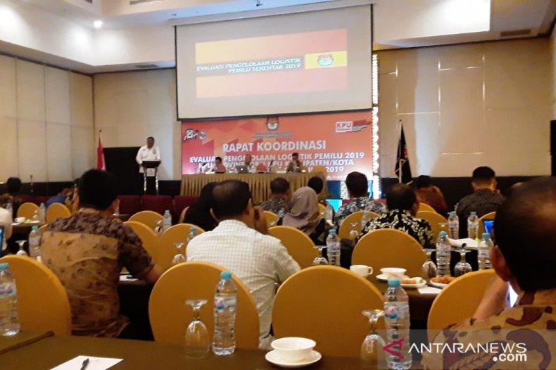 KPU Sultra rakor evaluasi pengelolaan logistik Pemilu 2019