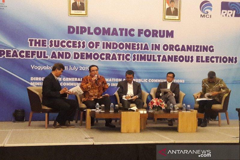 Kominfo undang belasan jurnalis asing kenali demokrasi di Indonesia