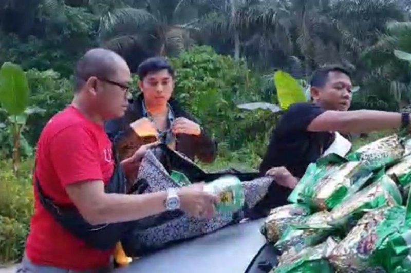 Sabu hasil penangkapan di Riau diperiksa di Jakarta