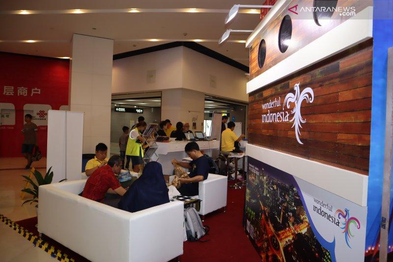 Indonesia masuk tiga besar tujuan wisatawan China