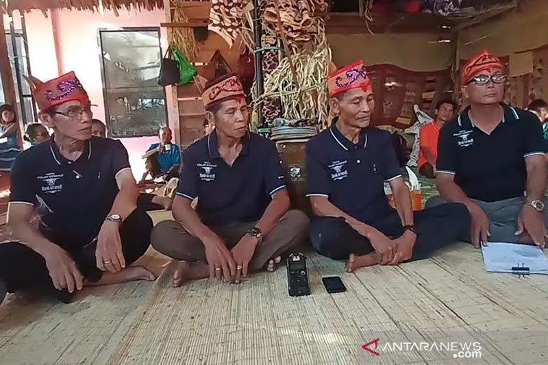 Pertahankan Adat Dayak Ma'anyan, ritual Bontang Hajat digelar di Bartim