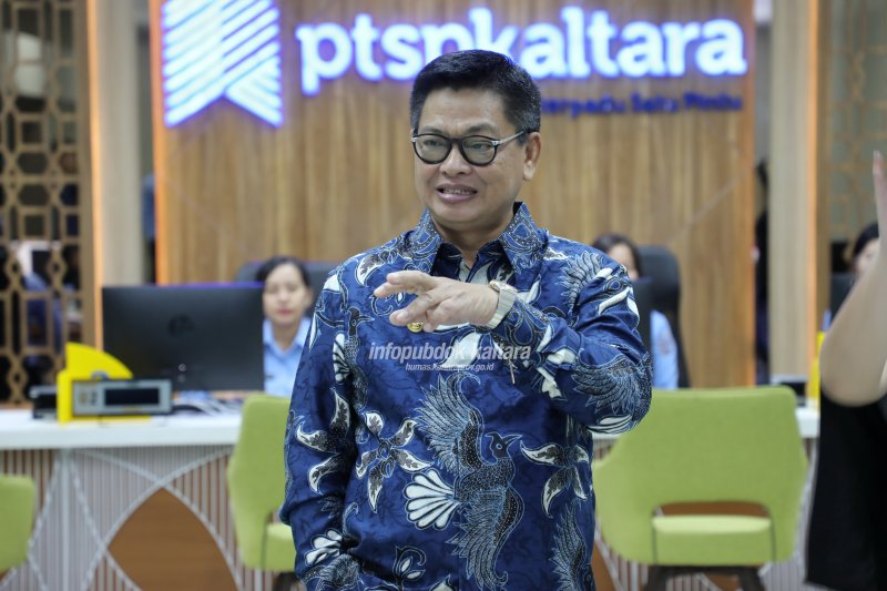 Gubernur Apresiasi Kinerja Baik DPMPTSP Kaltara