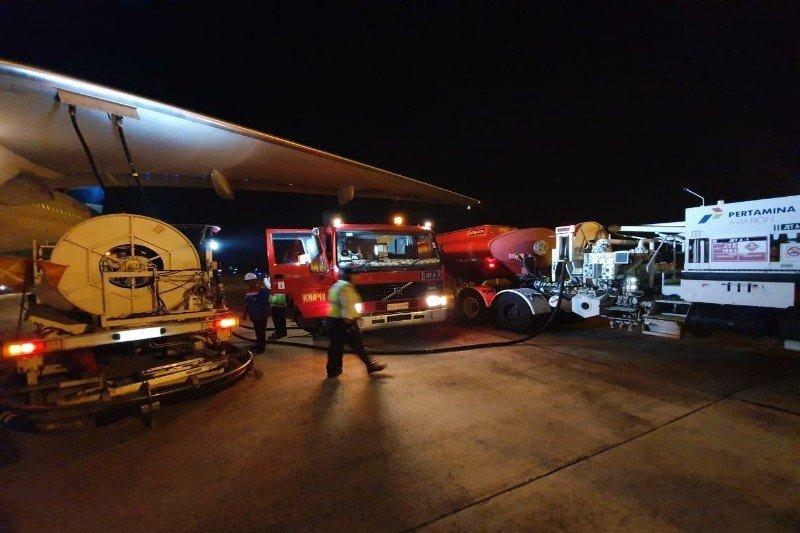 Pertamina siapkan avtur 10 juta liter layani penerbangan hajii Sumut