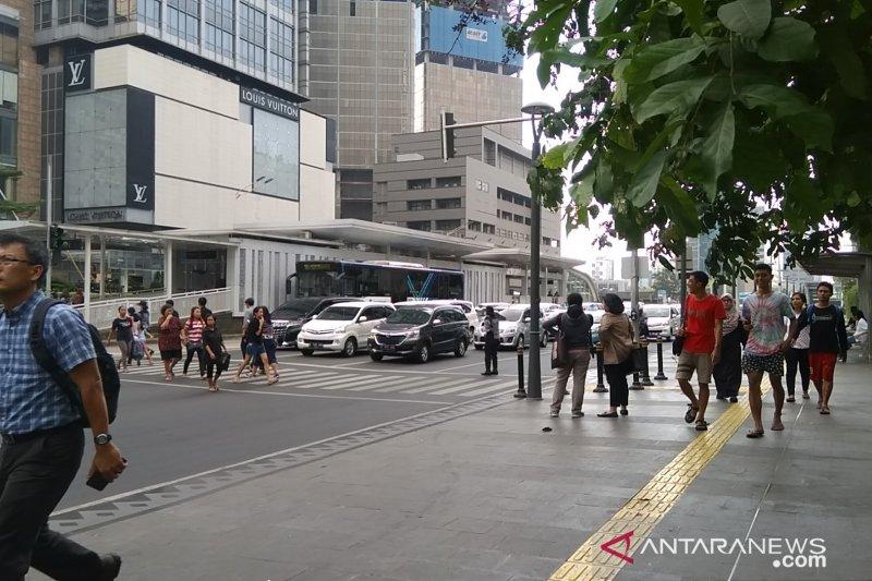 DPRD DKI minta penataan trotoar pusat kota diperluas