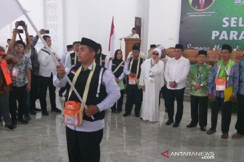 Calhaj Sumut diminta gubernur doakan lancarnya pembangunan daerah